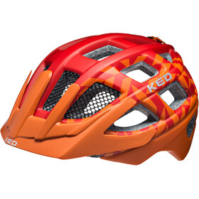 KED Kailu Helmet Kids Red Orange Matt